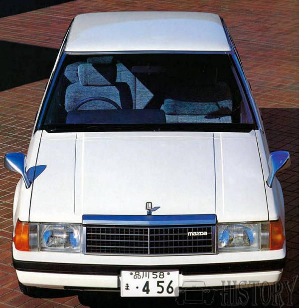 Mazda 929 3rd Luce 4th Generation front
