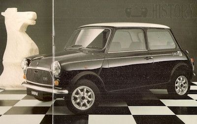 Mini classic limited edition Checkmate