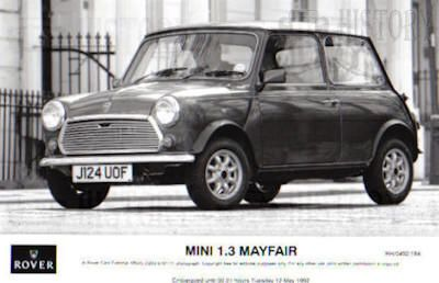 Mini classic limited edition Mayfair