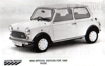 Mini classic limited edition Rose