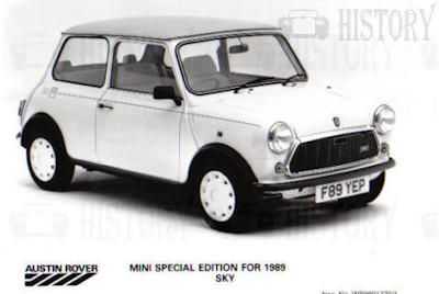 Mini classic limited edition Sky