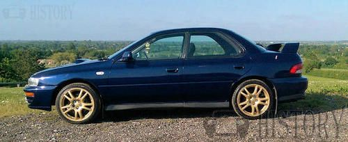 Subaru Impreza First generation 1996 side