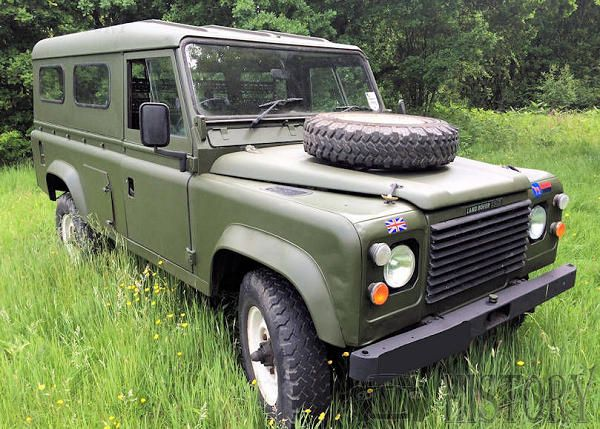 Land Rover One Ten military