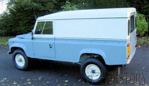 Land Rover One Ten side view 110