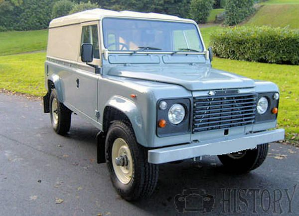 Land Rover Ninety and One Ten history