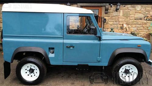 Land Rover Ninety side view 90