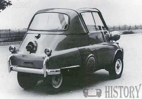 BMW Isetta 300 rear view