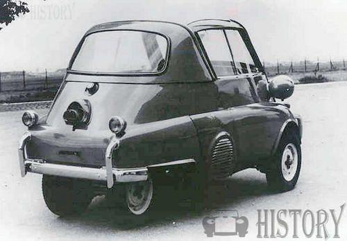 Bmw Bmw Isetta 250 300 1955 1962