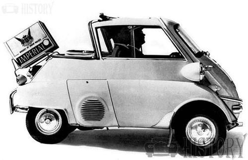 BMW Isetta 300 side view