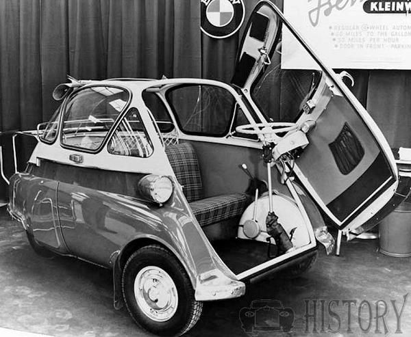 BMW Isetta 250 300 car history