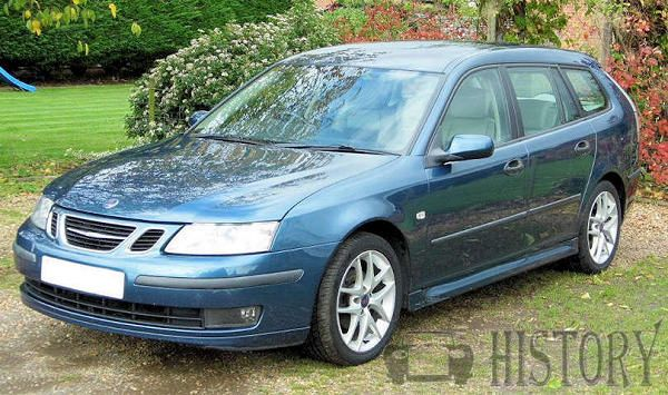 Saab 9-3 Second generation range and history