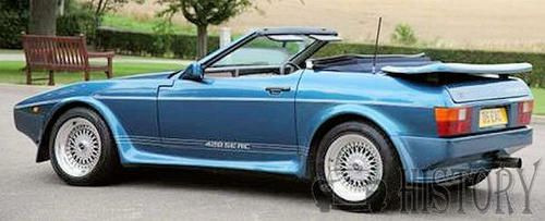 TVR 420 SEAC side view
