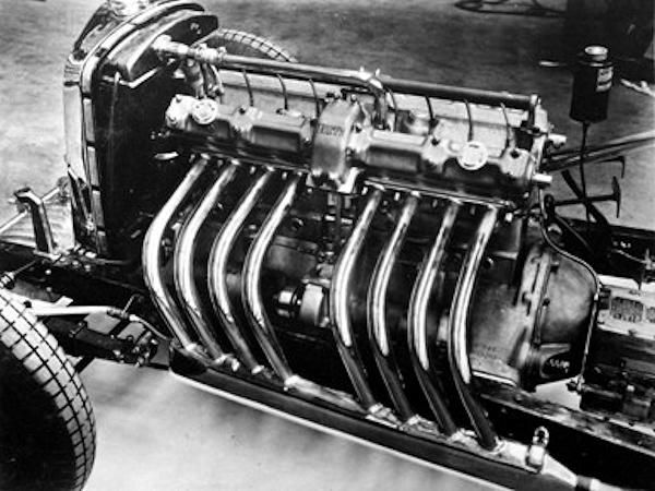 Straight eight engine history