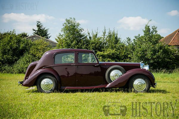 Bentley Mark V side view 1939 to 1941