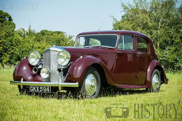 Bentley Mark V motor car history from 1939 to 1941