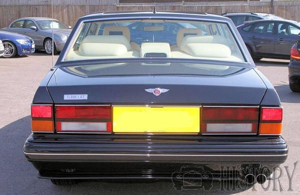 Bentley Turbo RT rear view