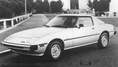 Mazda RX-7 Second generation S4 S5 FC history