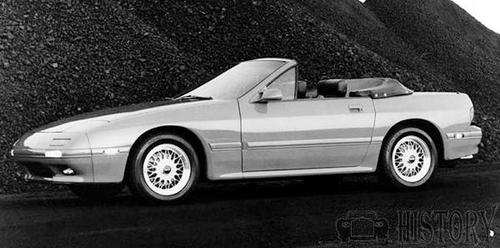 Mazda RX-7 Second generation 1990 convertable