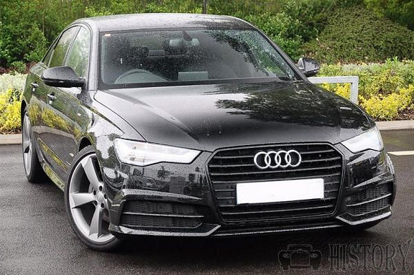 Audi A6 Black Edition range from 2013