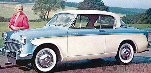 Sunbeam Rapier Series I motor car history