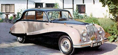 Armstrong Siddeley Sapphire 346 car history