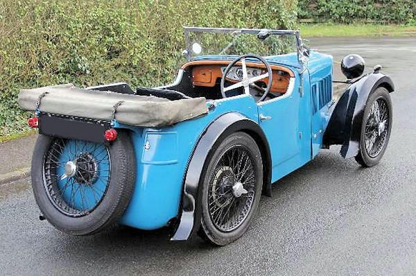 MG D-type Midget 1932 rear view