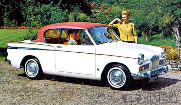 Sunbeam Rapier Series IV car history