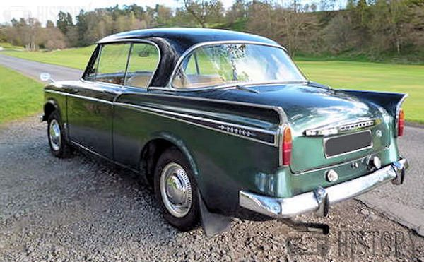 Sunbeam Rapier Series IV rear view