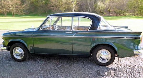 Sunbeam Rapier Series IV side view