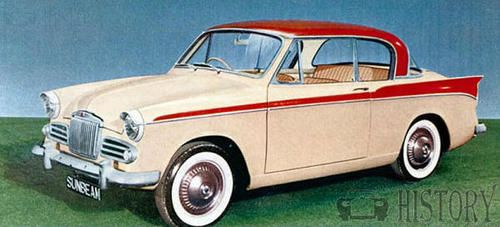 Sunbeam Rapier Series II 1958