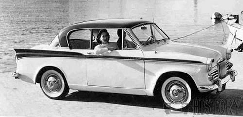 Sunbeam Rapier Series II motor car history