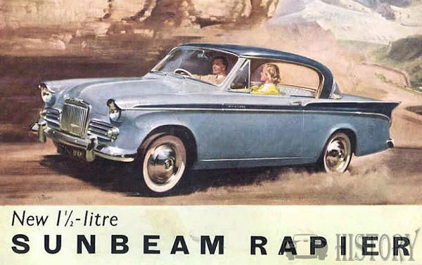 Sunbeam Rapier Series II