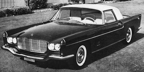 Dual-Ghia  American Automotive manufacturer USA From 1956 to 1958