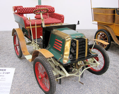 Baudier  French automobile manufacturer Paris France. Produced from 1900 to 1901